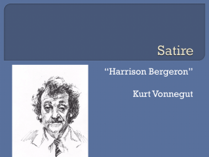 Satire & Harrison Bergeron