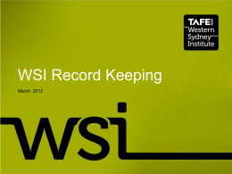 WSI Record Keeping March 2012_combined