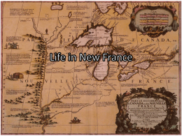 Life in New France - 5R-Classroom-Wiki