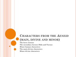 Characters of the Aeneid (main, divine