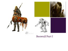 Beowulf- Part I