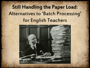 Paper Load Workshop - University of Louisville Public