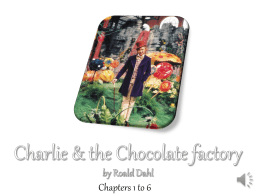 Chapters 1-6 Charlie