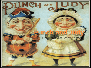 Punch and Judy - Malbank School & Sixth Form College
