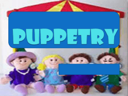 Puppetry - theliteraturecircle