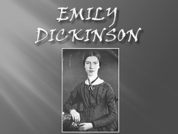 Emily Dickinson Slideshow Complete