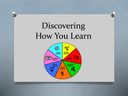 Discovering How You Learn PowerPoint