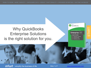 QuickBooks Enterprise - Accounting Software Solutions