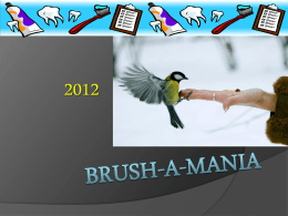 Power Point Presentation - Brush-a