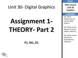 P1 Part 2- Impact Software has on Digital graphics