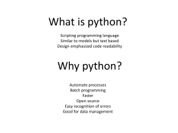 Three step process to integrate python into your GIS projects
