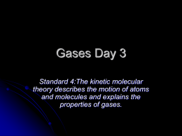 Gases 3