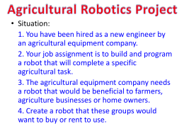 Ag Robot Assignment