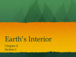 Earth*s Interior