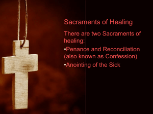 Sacraments of Healing