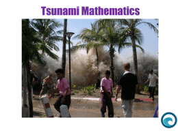 Tsunami Mathematics - Passy`s World of Mathematics