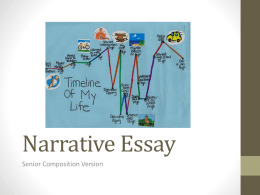 1NarrativeEssay-RegularComp