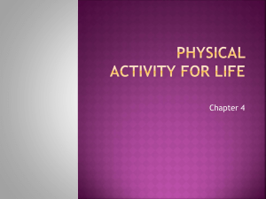 Ch 4 Lesson 1 Physical Activity _ Your Health