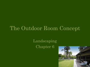 The Outdoor Room Concept