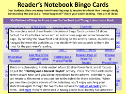 Reading-Bingo-Cards-Playlist