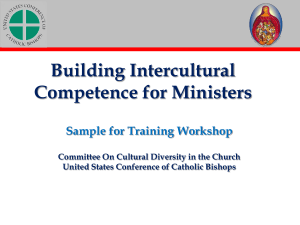 BICM PowerPoint - United States Conference of Catholic Bishops