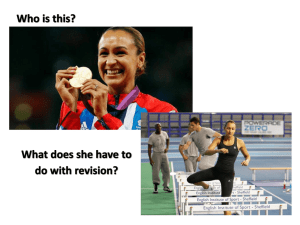 Revision Guide : Year 11 Powerpoint from MMO
