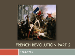 French Revolution Part 2