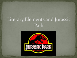 Literary Elements and Jurassic Park