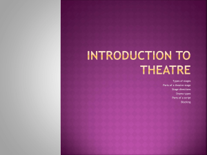 Introductiontotheatre