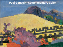 Paul Gauguin: Opposite Color Masterpieces