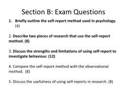 Section B: Exam Questions