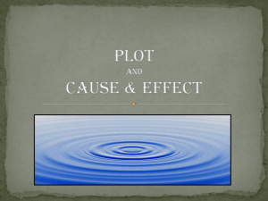 Plot and Cause & Effect
