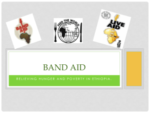 Band Aid PPT - WordPress.com