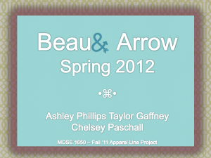 Beau and Arrow Apparel