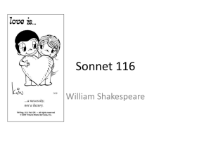 Sonnet_116 - WordPress.com