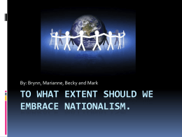 To What Extent Should We Embrace Nationalism. - wolfesocial20-1