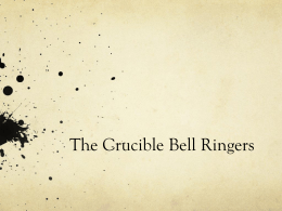 The Crucible Bell Ringers