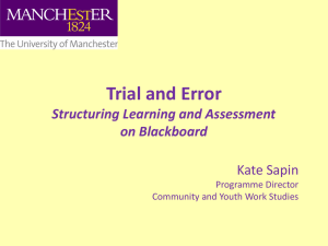 View the presentation - The University of Manchester