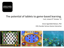 PowerPoint-præsentation - Future of game