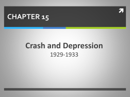 CHAPTER 15 Crash and Depression