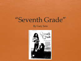 Seventh Grade - 7th Grade Literature with Mrs. Carson