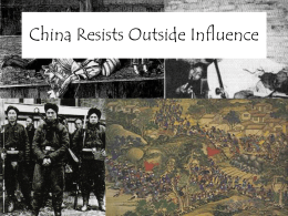 China Resists Outside Influence 09