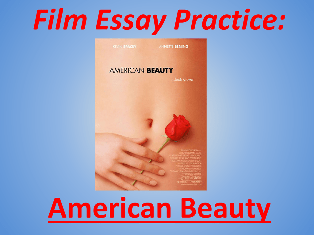 american beauty couch scene analysis