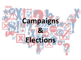 Campaigns & Elections - Glenbard North High School