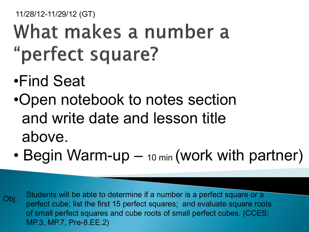 Workbooks worksheets on squares and square roots : Lesson 5.5: Rational Numbers and Decimals