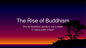 Powerpoint on Buddhism