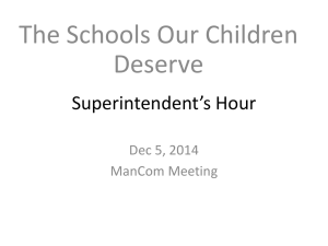 mancom dec5 schools our children deserve