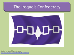Iroquois Government Power Point