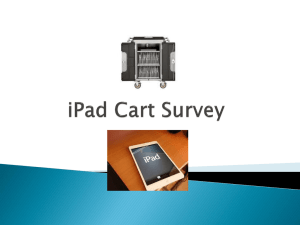 iPad Survey - Ellucian IL