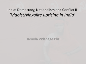 India: Democracy, Nationalism and Conflict II
